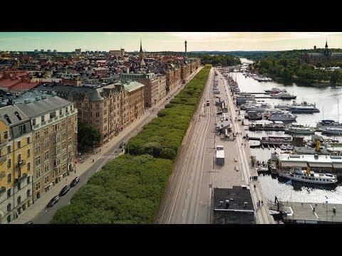 Nybrokajen Strandvägen Östermalm Norrmalm Stockholm
