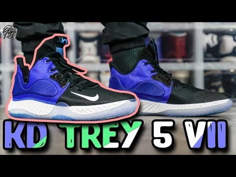 low priced f3c8e 57329 Nike KD TREY 5 VII First Impressions! - YouTube