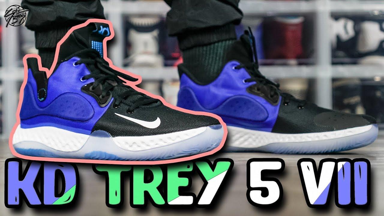 e0fa276e Nike KD TREY 5 VII First Impressions!