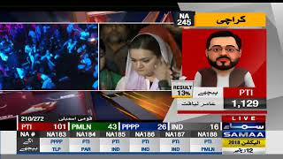 Accusation Of Dhandli By Maryam Aurangzeb | SAMAA TV LIVE | Election Pakistan 2018
