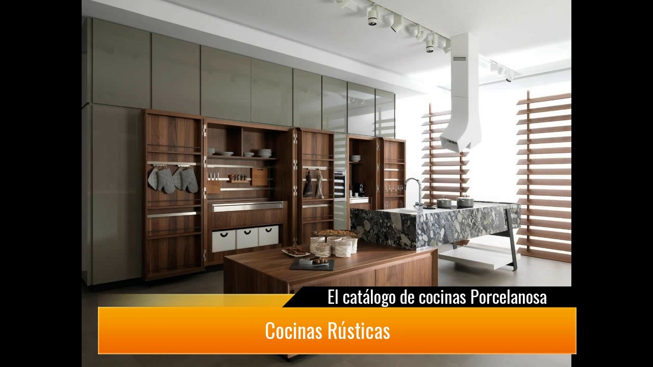 El cat logo de cocinas porcelanosa youtube for Catalogo cocinas