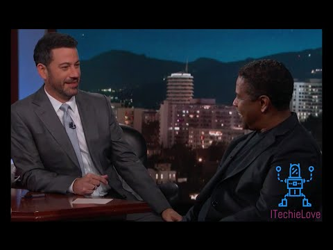 Denzel Washington Hates His Name!!!!