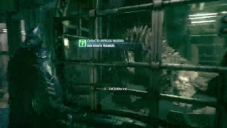 Wining killer croc [Batman Arkham knight]