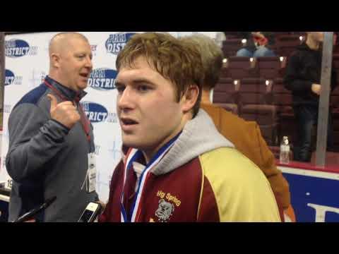 District 3 Individual Wrestling Championships Day 3 - Dauer: 2 Minuten, 57 Sekunden