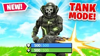 *NEW* TANK MODE in Fortnite Battle Royale