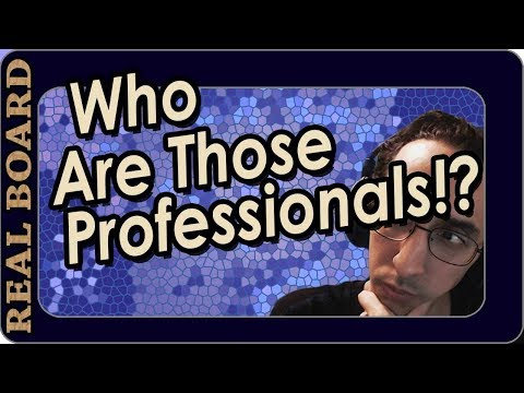 Who Are The Pros? - Ep.1 -  Real Board Lecture