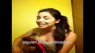Daniela Calvario Hablame de ti (cover con letra)