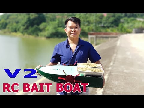 Build A Big RC Bait Boat - V2
