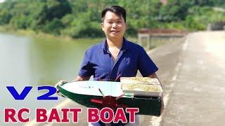 Build A Big RC Bait Boat - V2