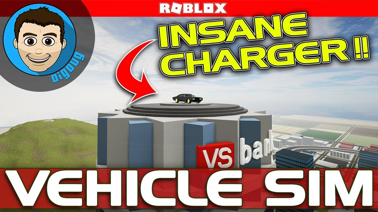 Ncis Team Dodge Charger Roblox Roblox Vehicle Simulator Insanity Mode Dodge Charger Youtube