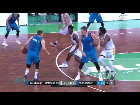 Vidéo : Les highlights de Limoges CSP - Alba Berlin