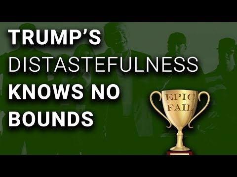 NOT FAKE NEWS: Trump Dedicates Golf Trophy to Hurricane Victims