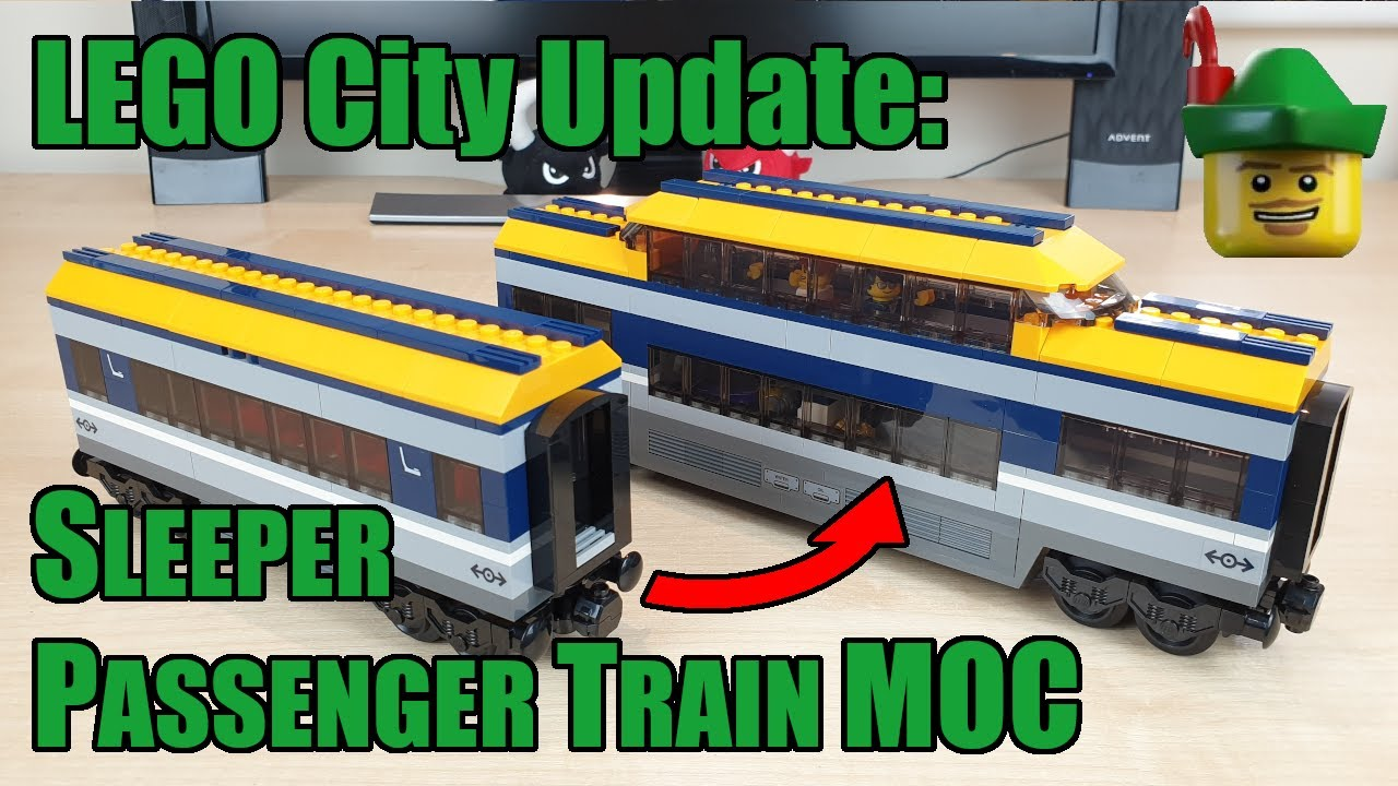 LEGO City Update - Passenger Train Carriage MOC 60197 🚆🏹