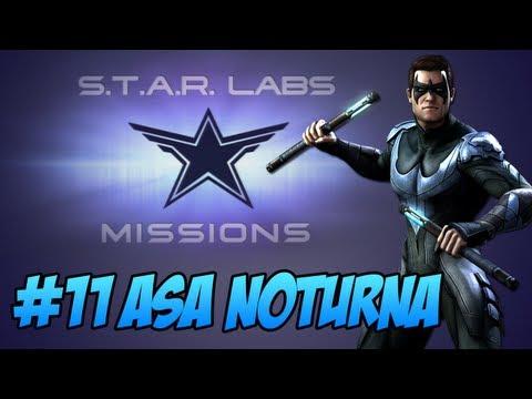 Injustice: Gods Among Us - Star Labs #11 Asa Noturna