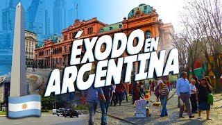 ¿Por qué y para dónde emigran los argentinos?