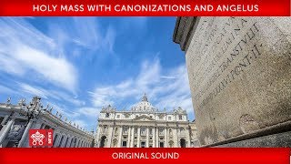 Pope Francis-Holy Mass with Canonizations and Angelus - 2019-10-13