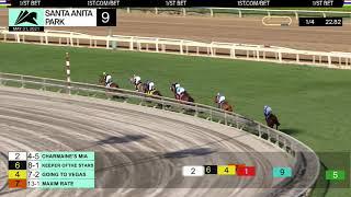 Maxim Rate wins the Gamely Stakes (Grade I) on Monday May 31st, 2021 at Santa Anita Park.