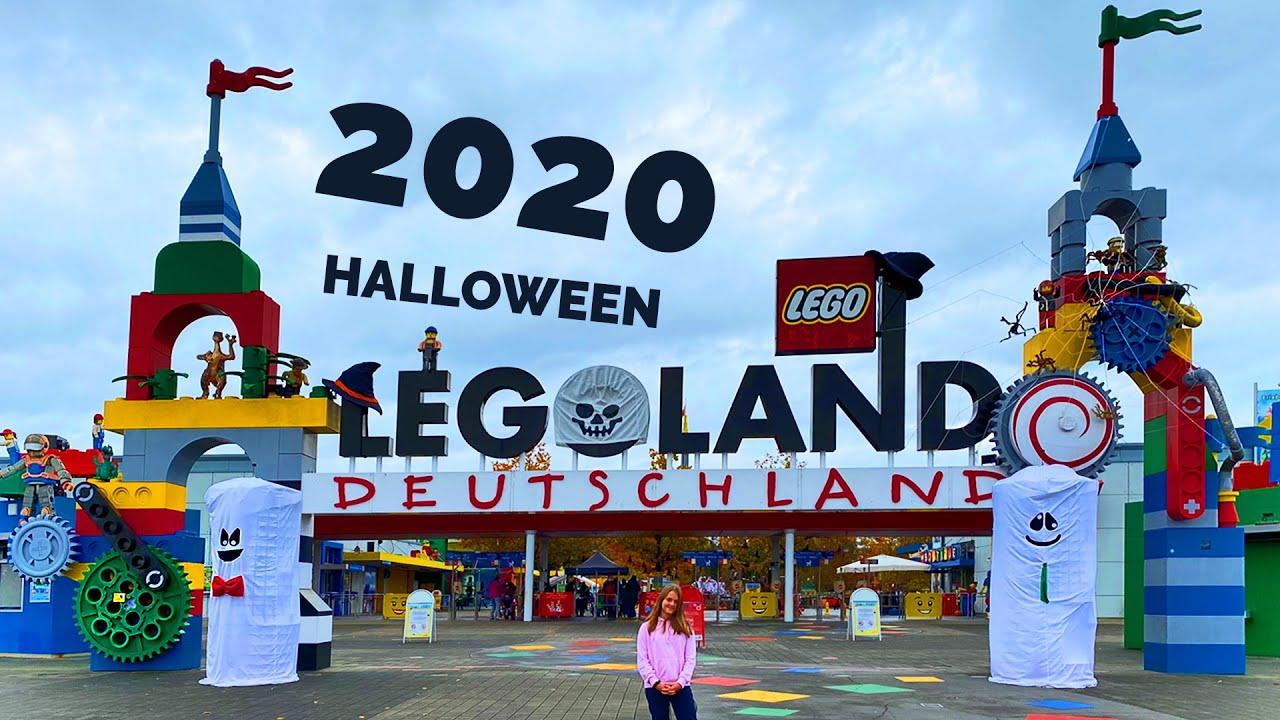 Legoland Halloween Weeks 2020 Decoration Black Burger Onrides Amusement Park In Germany Youtube