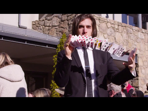 Sydney Magician Jackson Aces in Commercial for Thredbo Resort