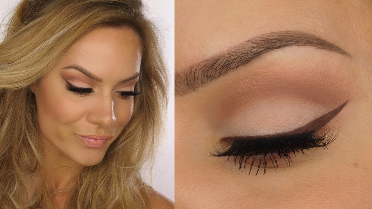 Nude Soft Cut Crease  Matte Natural Eye Makeup Tutorial  Shonagh Scott   ShowMe MakeUp