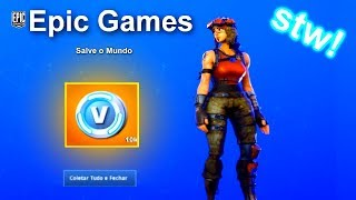 WIE ZU * WIN * UP TO 10K OF FAST V-BUCKS bei FORTNITE SAVE the WORLD!