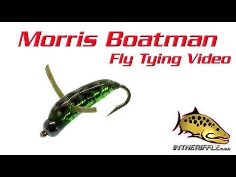 Morris Boatman Fly Tying Video Instructions - Skip Morris Fly Pattern
