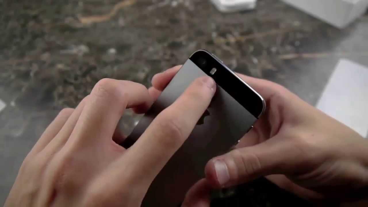 Nuevo unboxing clon exacto IPhone 5s