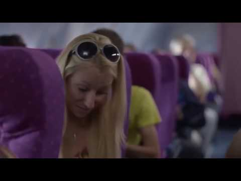 AIRPLAN FUNNY ADS CONDOM