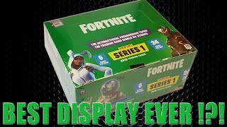 Panini FORTNITE TRADING CARDS SERIE 1 | BESTE DISPLAY BOX EVER ?!? | Unboxing