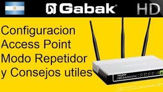 como configurar access point en modo repetidor y otros modos utiles tp link tl wa701nd