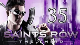 Saints Row 3 the Third Walkthrough - Part 35 Zombie Attack Let's Play (Gameplay/Commentary)