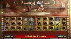 Max Bet Game on The Secrets Of The Sand Slot Machine - Big Win