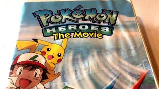 Pokemon Heroes The Movie * Animated Cartoon * VHS Movie Collection