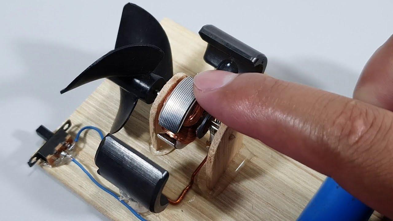 Motor Eléctrico Como Funciona por Dentro