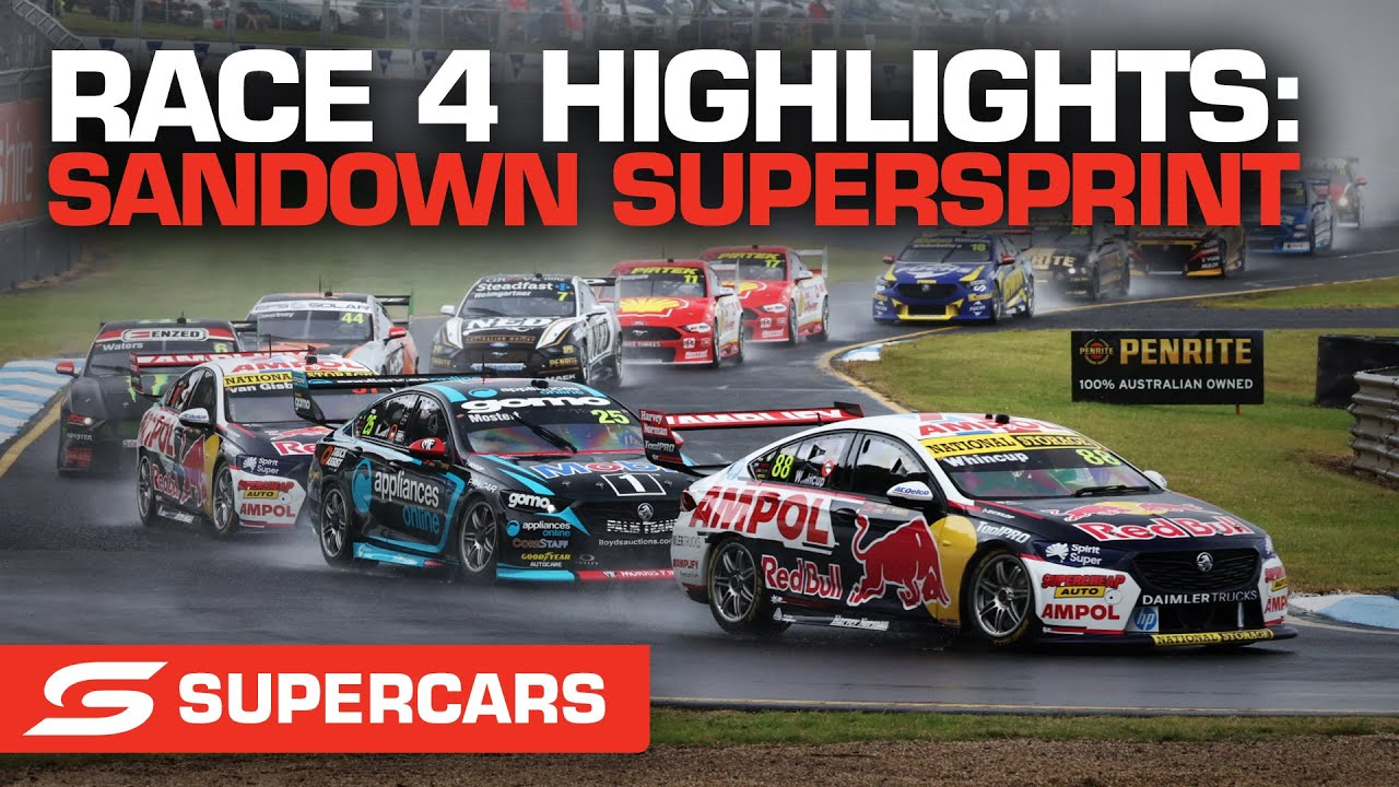Race 4 Highlights - Penrite Oil Sandown SuperSprint | Supercars 2021