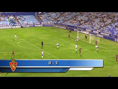 Pretemporada | Real Zaragoza 0-2 Eibar | 12/8/2017