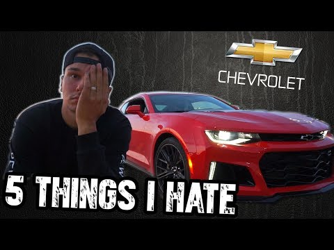 5 Things I HATE About My 2017 Camaro ZL1 (factory issues..1 of 50 in Canada)