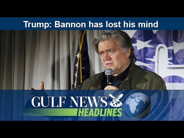 Trump: Bannon has lost his mind - GN Headlines