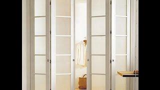 Механизм для двери книжка(Складные двери книжка, как поставить механизм дверь книжка, ролики для дверей книжка www.раздвижные-системы...., 2015-07-01T13:09:50.000Z)