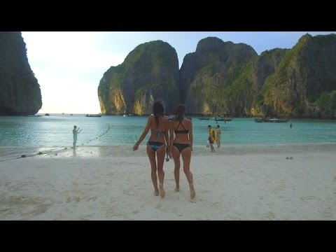 Phi Phi Island | Shipwrecked party boat.