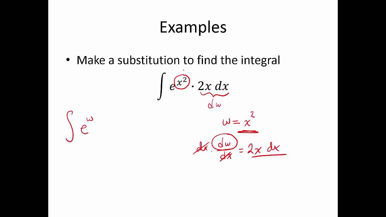 Mat1193 bio calculus integration by substitution youtube falaconquin