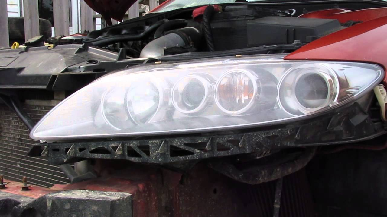 maxresdefault how to remove the headlight asemably on 2004 mazda 6 gt youtube  at crackthecode.co