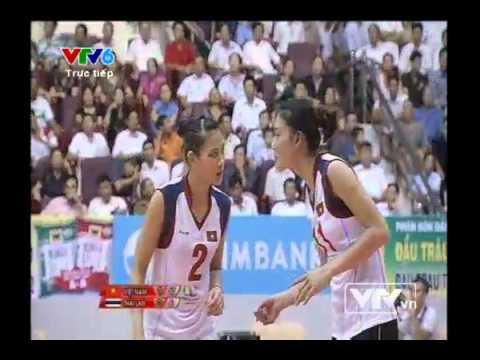 VTV Cup 2013: Việt Nam 3-0 Thái Lan