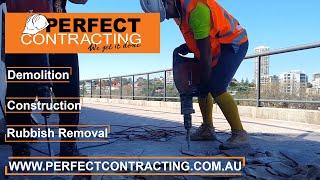 Demolition works in Vibe Hotel   Sydney