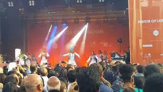 Imperial College Bhangra Team - Diwali at Trafalgar Square London 2017