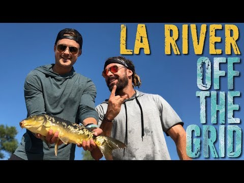 Is The LA River Safe To Fish? Dylan And I Find Out!   Off The Grid W/Zac Efron