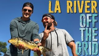 Is the LA River Safe to Fish? Dylan and I find out! | Off the Grid w/Zac Efron