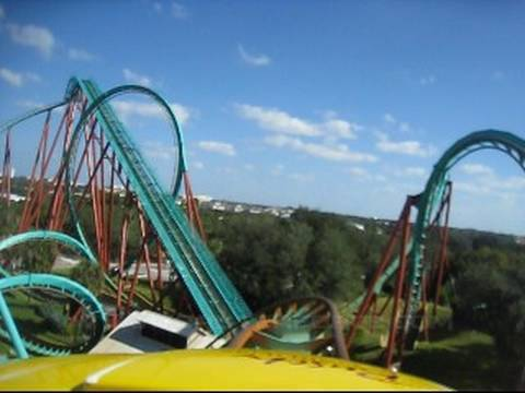 Kumba Front Row Seat on-ride POV Busch Gardens Tampa Travel Video