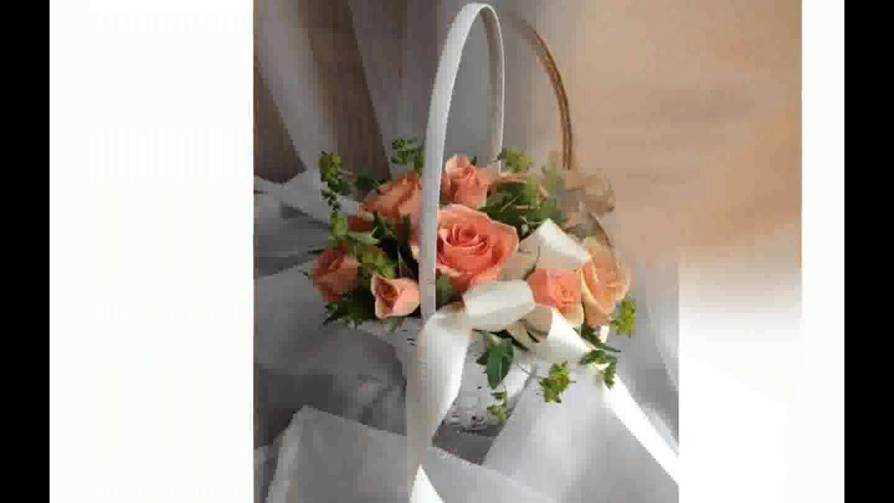 Flower girl flower baskets youtube izmirmasajfo