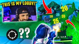 Nickmercs *DESTROYS* Entire LOBBY! (Fortnite Battle Royale)